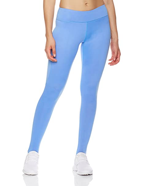 7e7f34637c Mint Lilac Women's Reflective Yoga Leggings Athletic Workout Leggings with  Back Pocket Small Blue