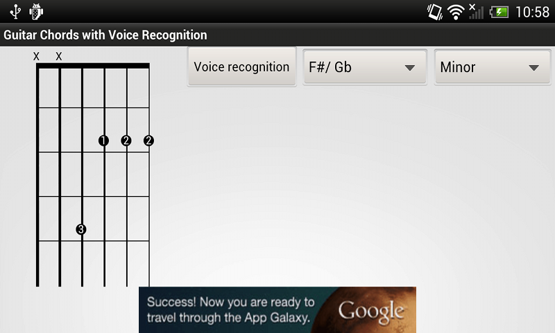Guitar chords- voice recognition: Amazon.es: Appstore para Android