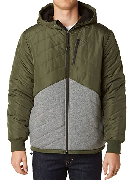 Chaqueta Fox Clicker Quilted Army (L , Verde)