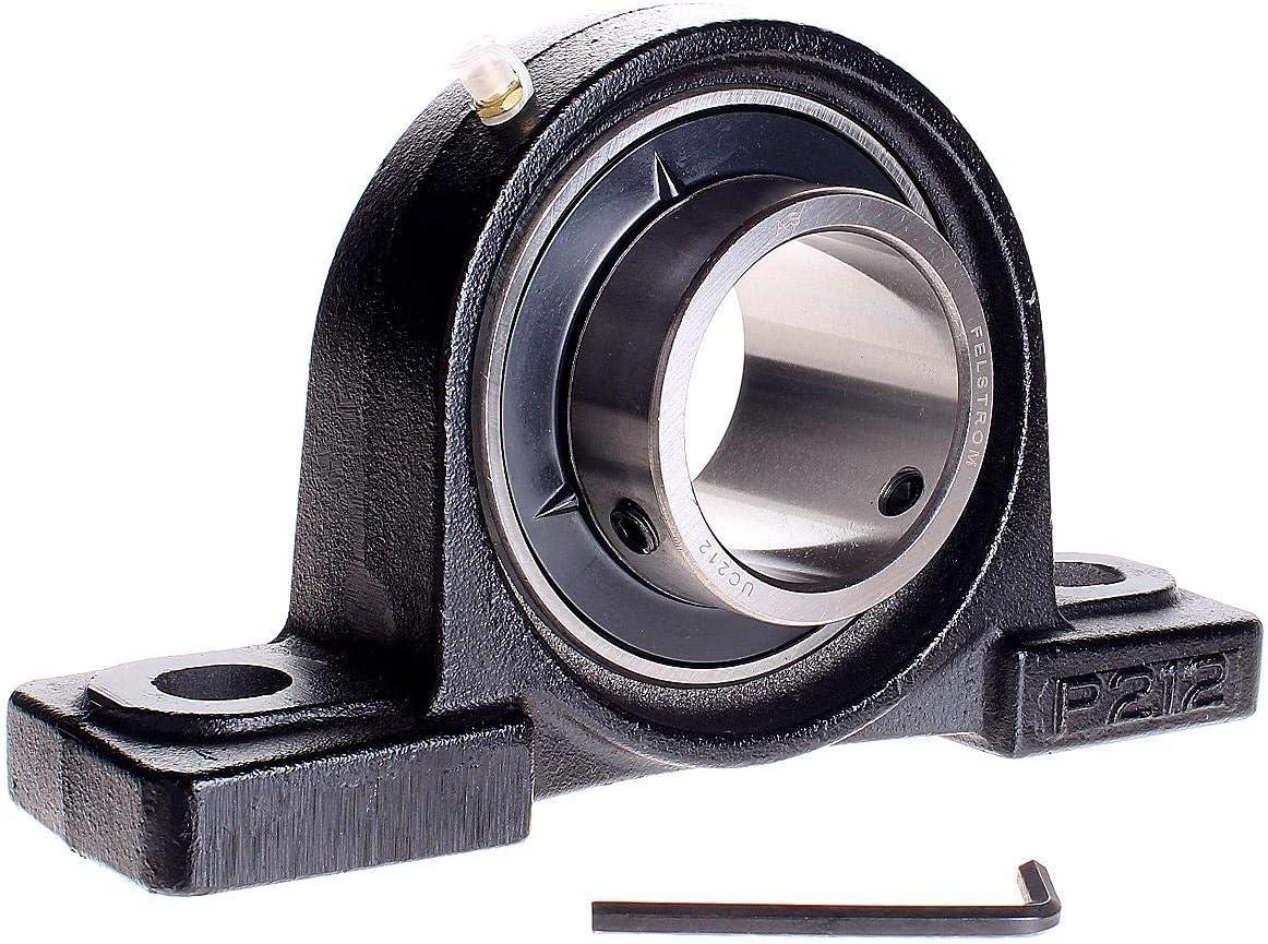 UCP212 Felstrom Stehlager-Geh/äuseeinheiten UCP 60,00mm