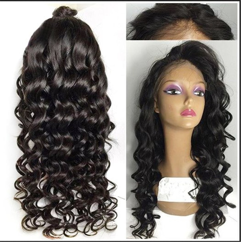 Amazon.com   ATOZWIG Synthetic Wig Women Long Wave Highlight Body Wavy Cheap  Synthetic Wigs Realistic female women   Beauty 06c2b72690