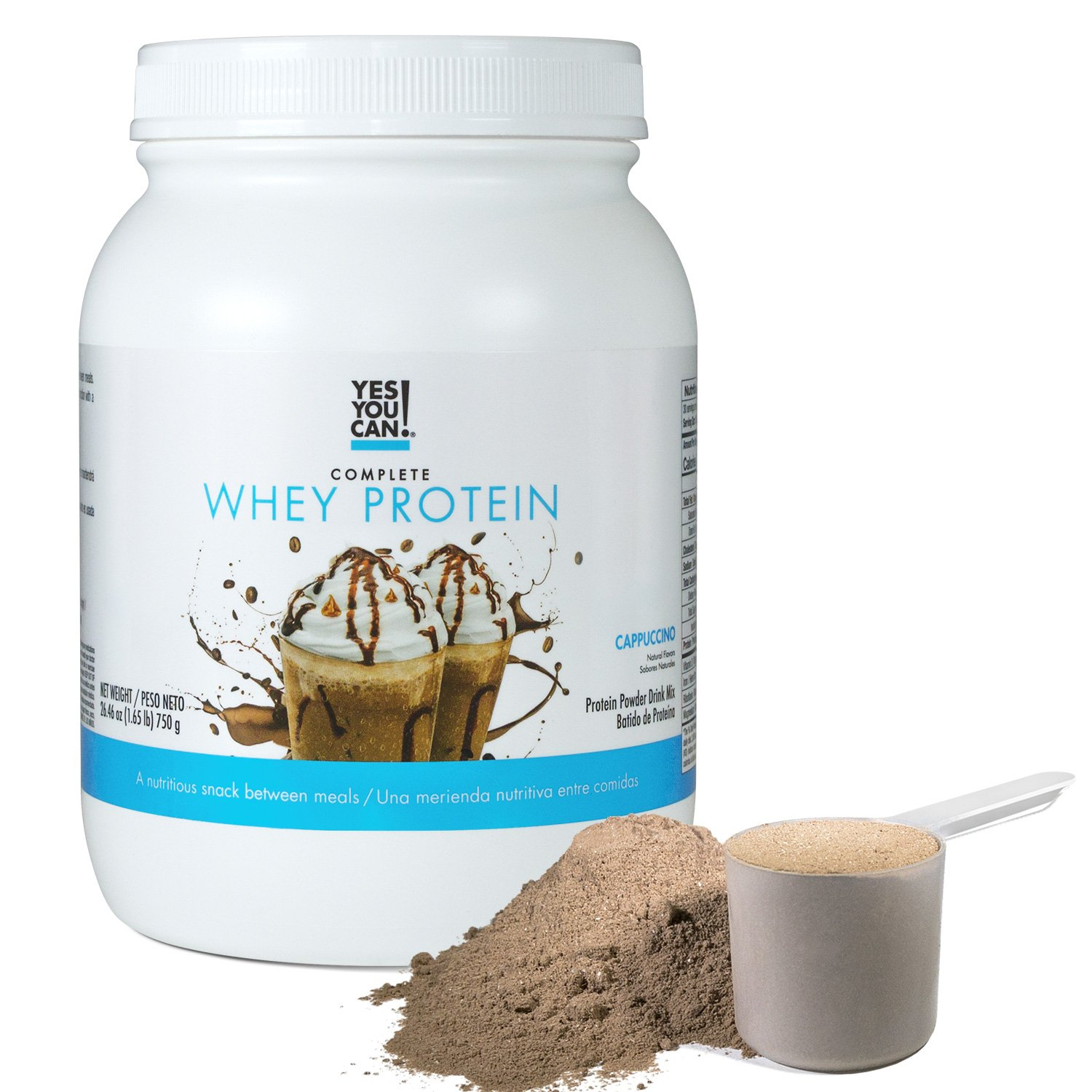 Amazon.com: Yes You Can! Complete Whey Protein, a Nutritious Snack Between Meals, 15 Grams of Protein, Helps Lose Weight and Build Muscle, ...