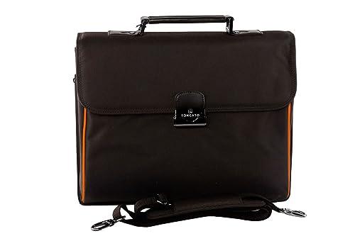 migliori offerte su molti stili vestibilità classica Cartella professionale uomo donna RONCATO borsa ufficio moro porta PC 15  H183