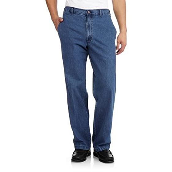uts product mens fit comfort regular performance waistband denim jean comforter wrangler flex shopko