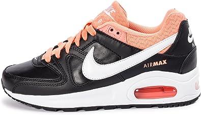 tiendas populares nueva apariencia diseño de calidad Nike Air Max Command Flex Leather (GS) Schuhe black-white-atomic ...