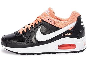 Nike Air Max Command Flex Leather (GS) Schuhe black white