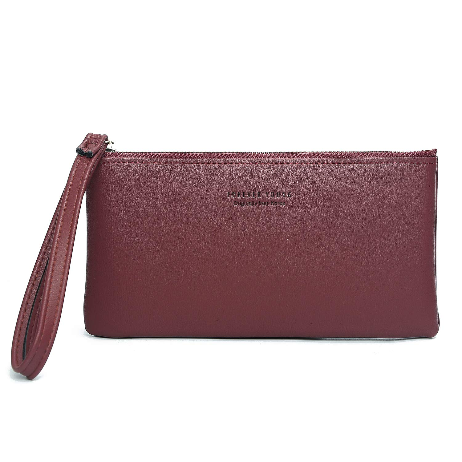 Leather Small Wristlet...