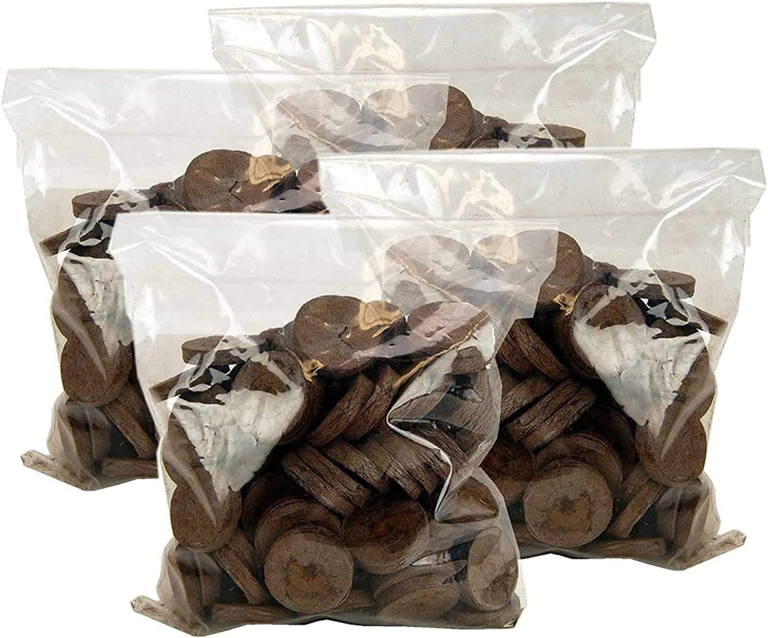 200 Count- Jiffy 7 Peat Soil 42mm Pellets Seeds Starting Plugs: Indoor Seed Starter- Start Planting Indoors for Transplanting to Garden or Planter Pot