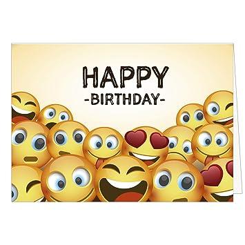 Grosse Gluckwunschkarte Zum Geburtstag Xxl A4 Happy Birthday