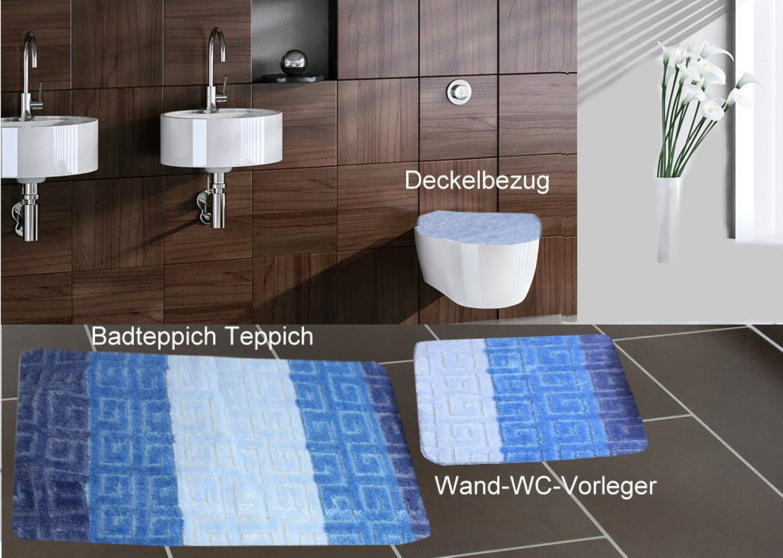 Art nr teilig badgarnitur badmatte set badvorleger wand wc