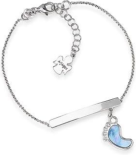 Collection Amen: collier avec cœur en zircons