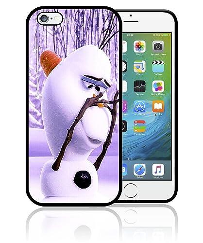 Coque iPhone 4S 5S SE 5C 6S 7 8 Plus X XS MAX XR Frozen La Reine ...