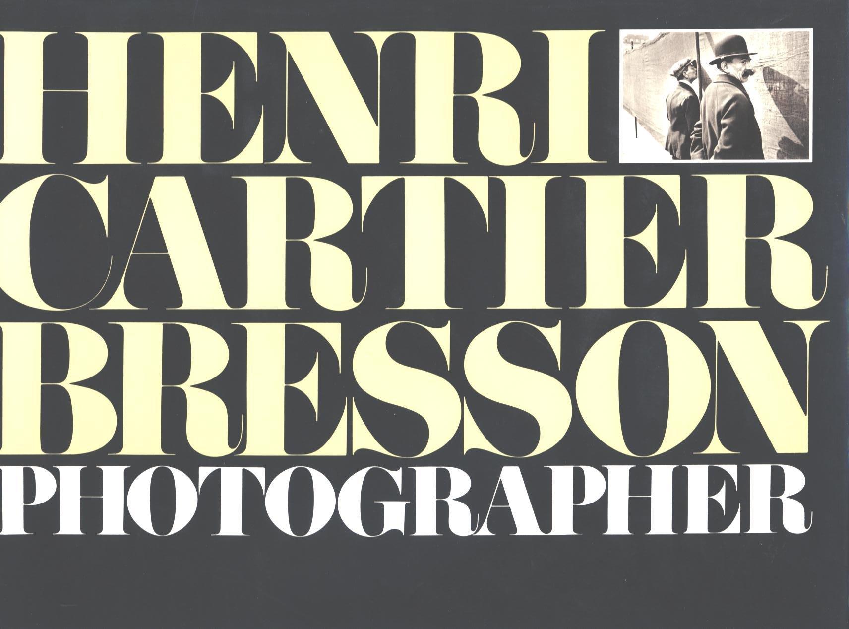 Henri Cartier-Bresson: Photographer pdf epub