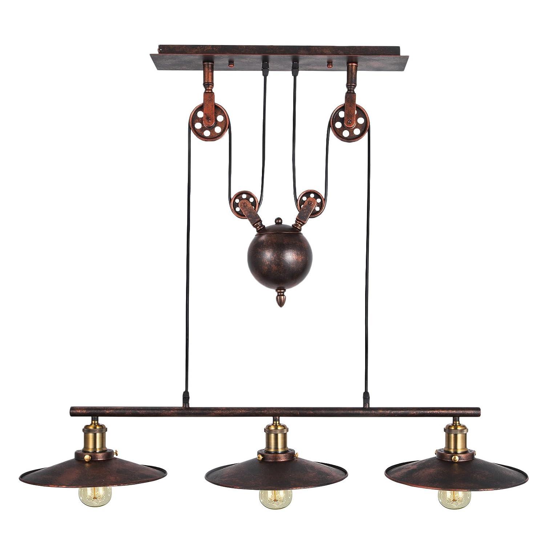 Happybuy Pendant Light 18dia X 344h Vintage Industrial Hanging