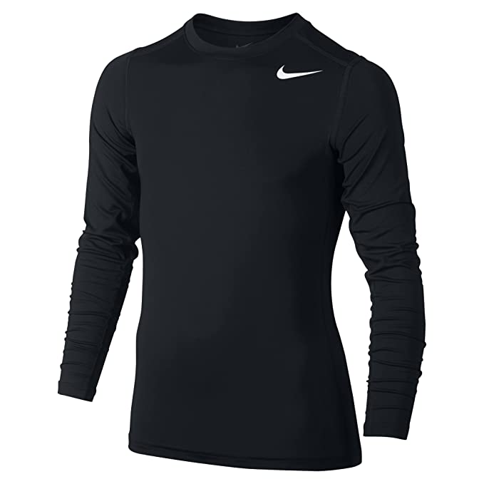 Nike Pro Combat Core Fitted Long Sleeve Boy's Shirt
