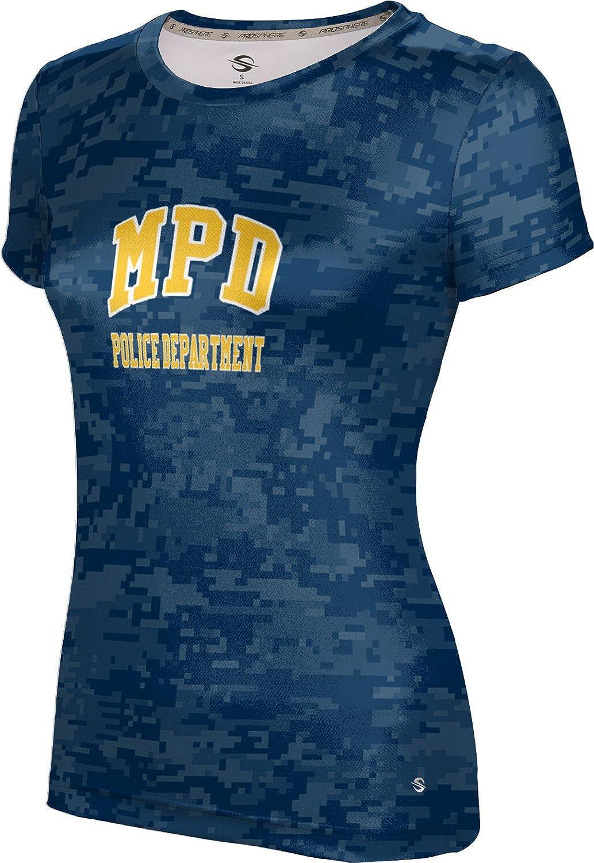ProSphere Women's Miami Police Department Gov-Fire-Police Digital Tech Tee
