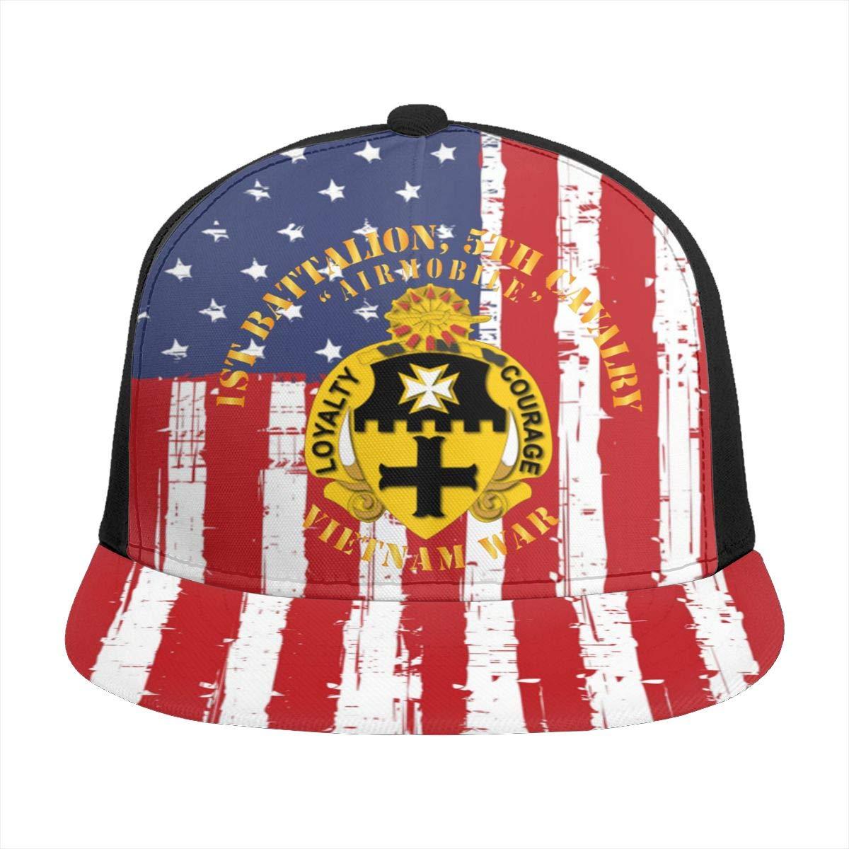 1st Battalion 5th Cavalry Unisex Adult Hats Classic Baseball Caps Peaked Cap