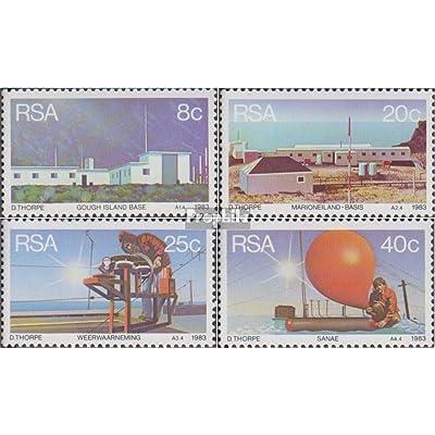 afrique du sud 626-629 (complète.Edition.) 1983 Wetterstationen (Timbres pour les collectionneurs)