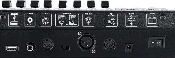 Showlite Máster Pro - Controlador DMX, USB: Amazon.es ...