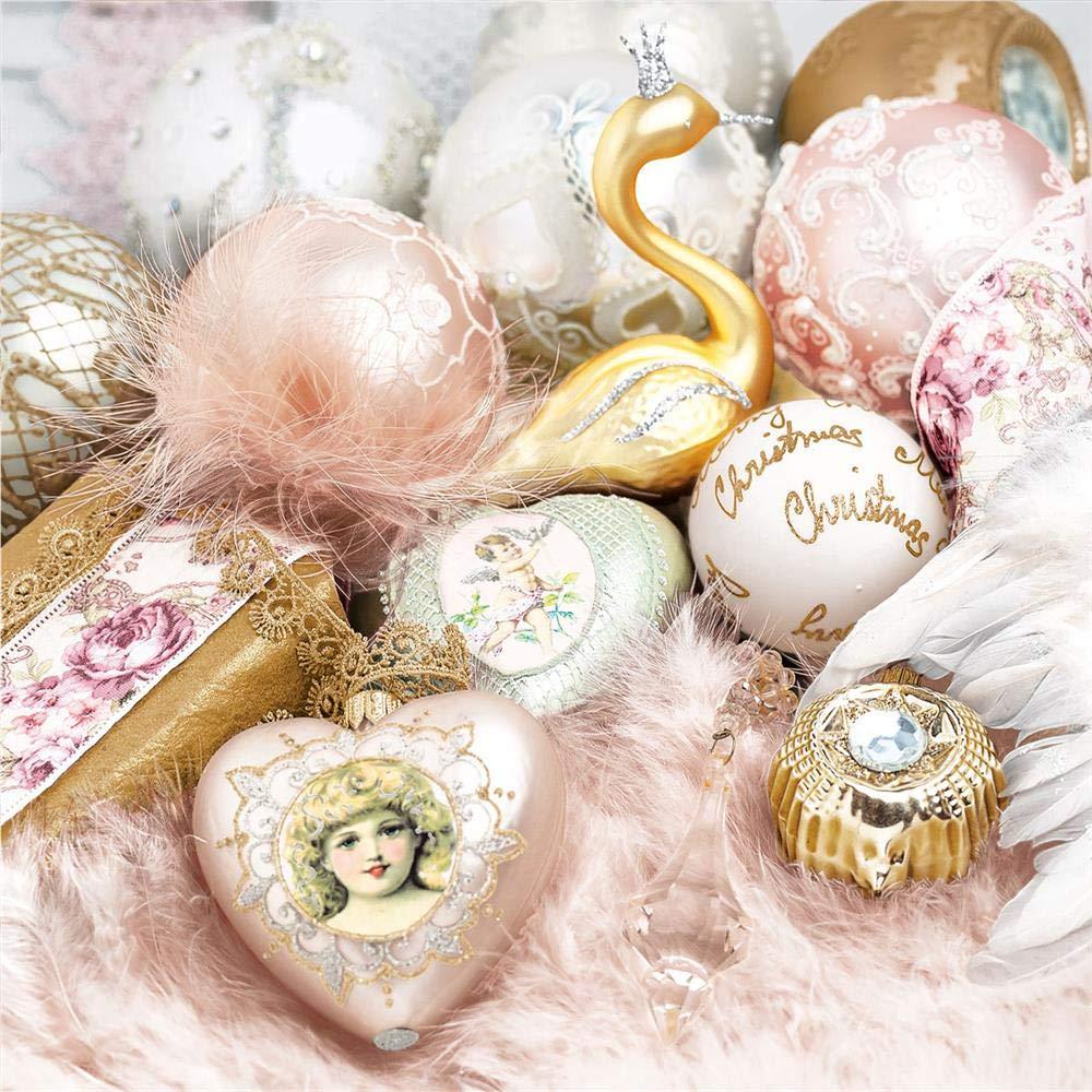 Tovaglioli di Natale 3 veli 33 x 33 cm confezione da 20
