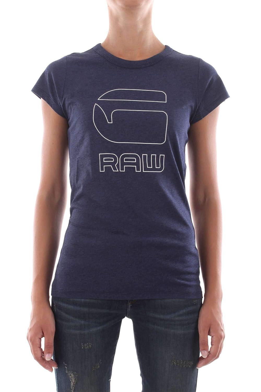TALLA 36 (Talla del fabricante: Small). G-STAR RAW Cirst Slim R T Wmn S/S Camiseta para Mujer