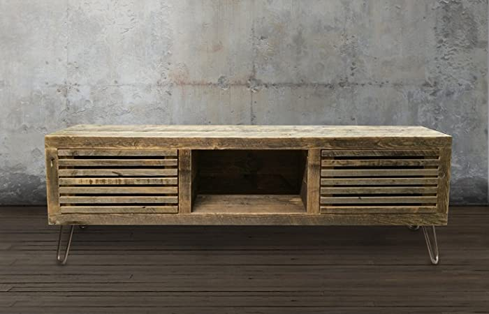 Ordinaire Reclaimed Wood Media Console