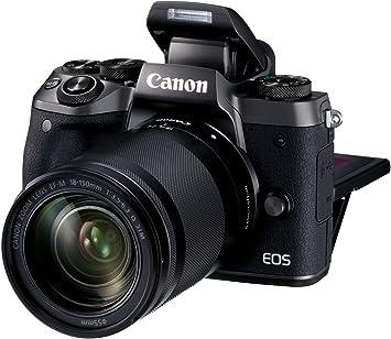Canon EOS M5 - Kit de Cámara EVIL de 24.2 MP con objetivo EF-M 18 ...