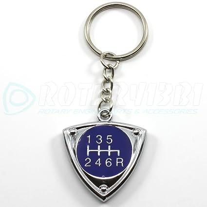 6 Velocidad Azul Rotor clave cadena por rotary13b1: Amazon ...