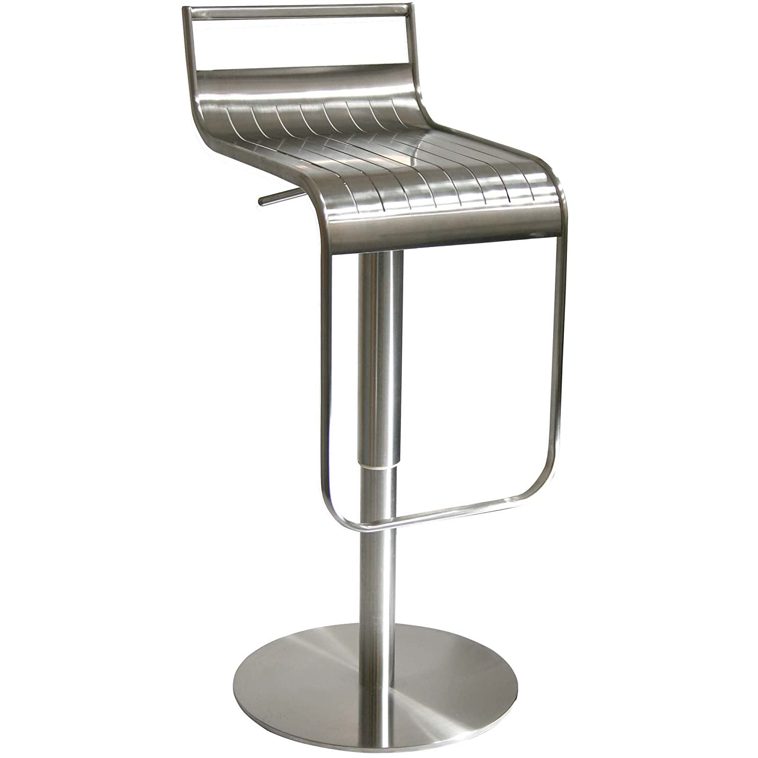 Amazon.com  Amerihome BSSS1 Stainless Steel Bar Stool  Barstool Stainless Steel  Garden u0026 Outdoor  sc 1 st  Amazon.com & Amazon.com : Amerihome BSSS1 Stainless Steel Bar Stool : Barstool ... islam-shia.org