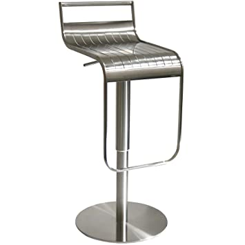 Stupendous Amerihome Bsss1 Stainless Steel Bar Stool Amazon Co Uk Ncnpc Chair Design For Home Ncnpcorg