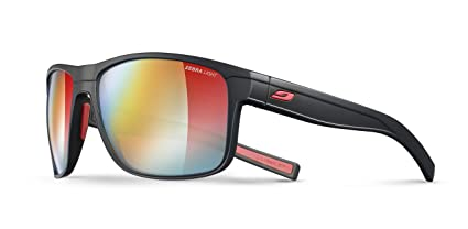 2c3f4ffd09 Julbo Renegade Performance Sunglasses - REACTIV Zebra Light - Black Red