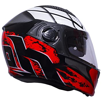Airoh Integral Casco Moto Casco Storm Starter Red Gloss XXL
