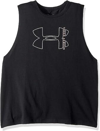 Under Armour UA Women/'s HeatGear graphique Sportstyle Muscle Tank Top-Neuf