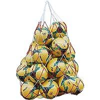QCHOMEE 2 Bolsas de Pelotas de Malla para Transportar Pelotas de Nailon, Bolsa de Transporte para Baloncesto, Voleibol…