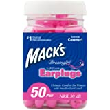 Mack's Ear Care Dreamgirl Soft Foam Earplugs, 50 Count