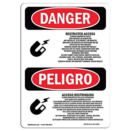 ... Access Strong | Choose from: Aluminum, Rigid Plastic Or Vinyl Label Decal | Protect Your Business, Construction Site, Warehouse & Shop Area | Made in ...