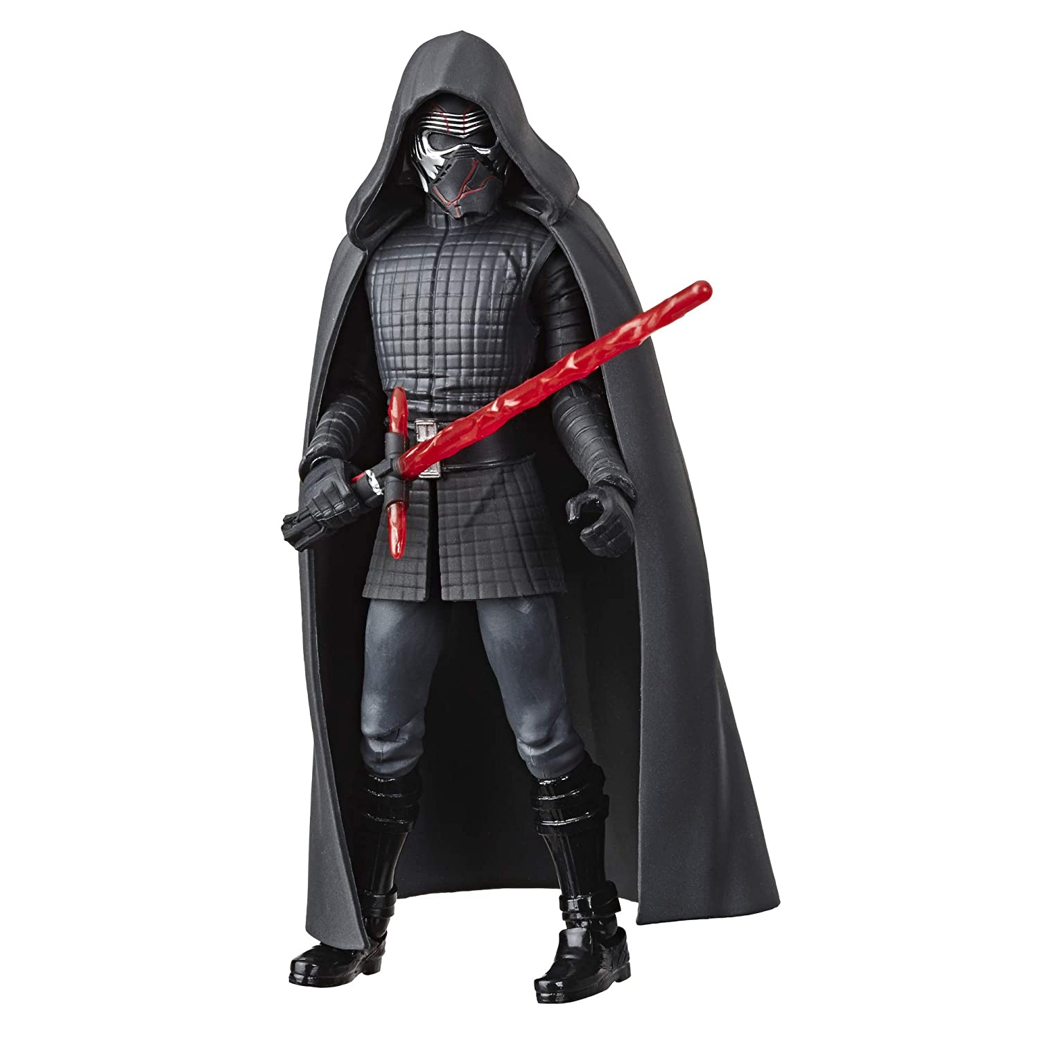 Star Wars Galaxy of Adventures Rise of The Skywalker Supreme Leader Kylo Ren 5-Scale Action Figure Toy with Fun Action Move