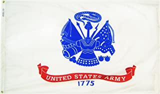 product image for Annin Flagmakers Model 439035 U.S. Army Military Flag 3x5 ft. Nylon SolarGuard Nyl-Glo 100% Made in USA to Official Specifications. Officially Licensed Manufacturer.