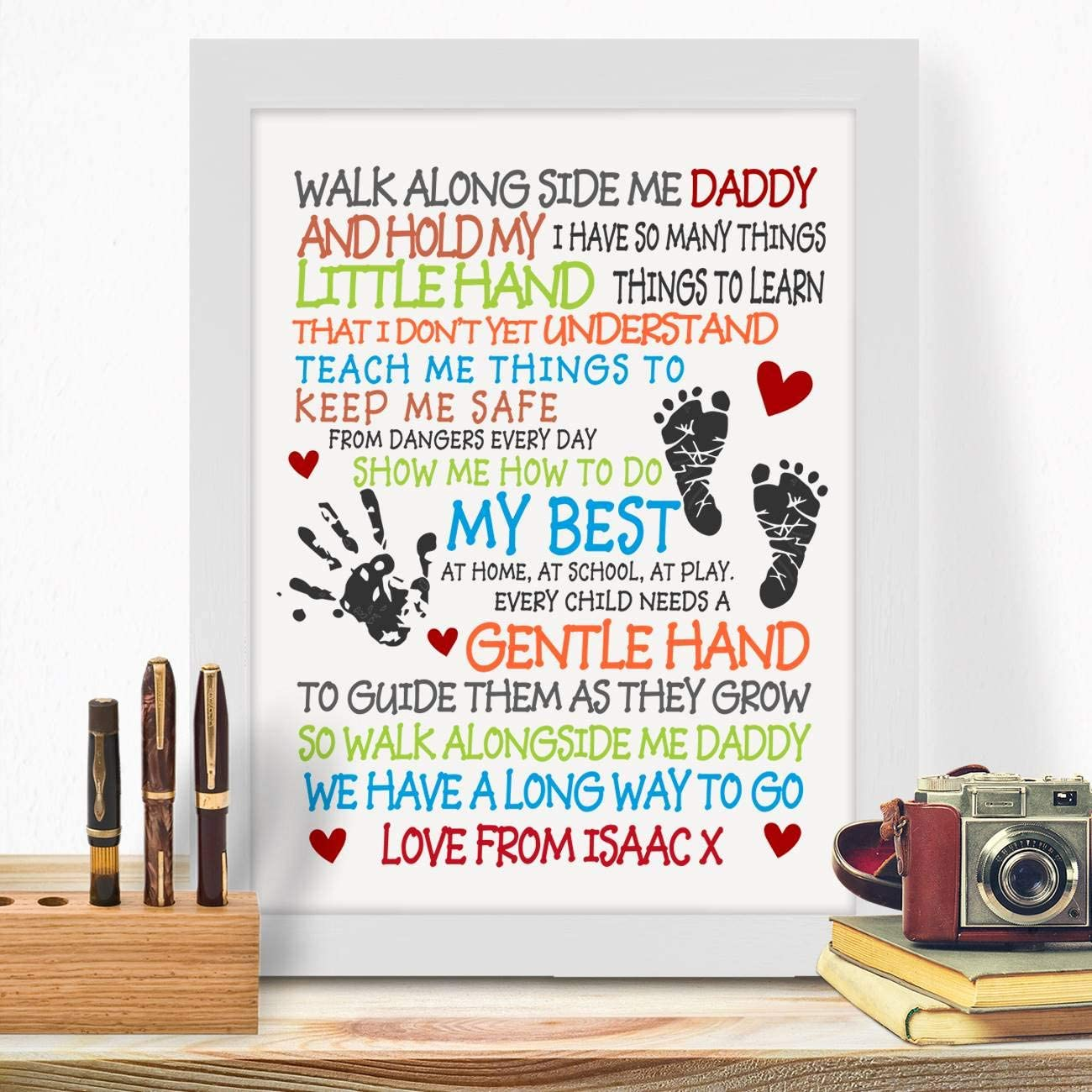 Personalised Poem For Step Dad On Birthday Fathers Day Christmas Thank You Best