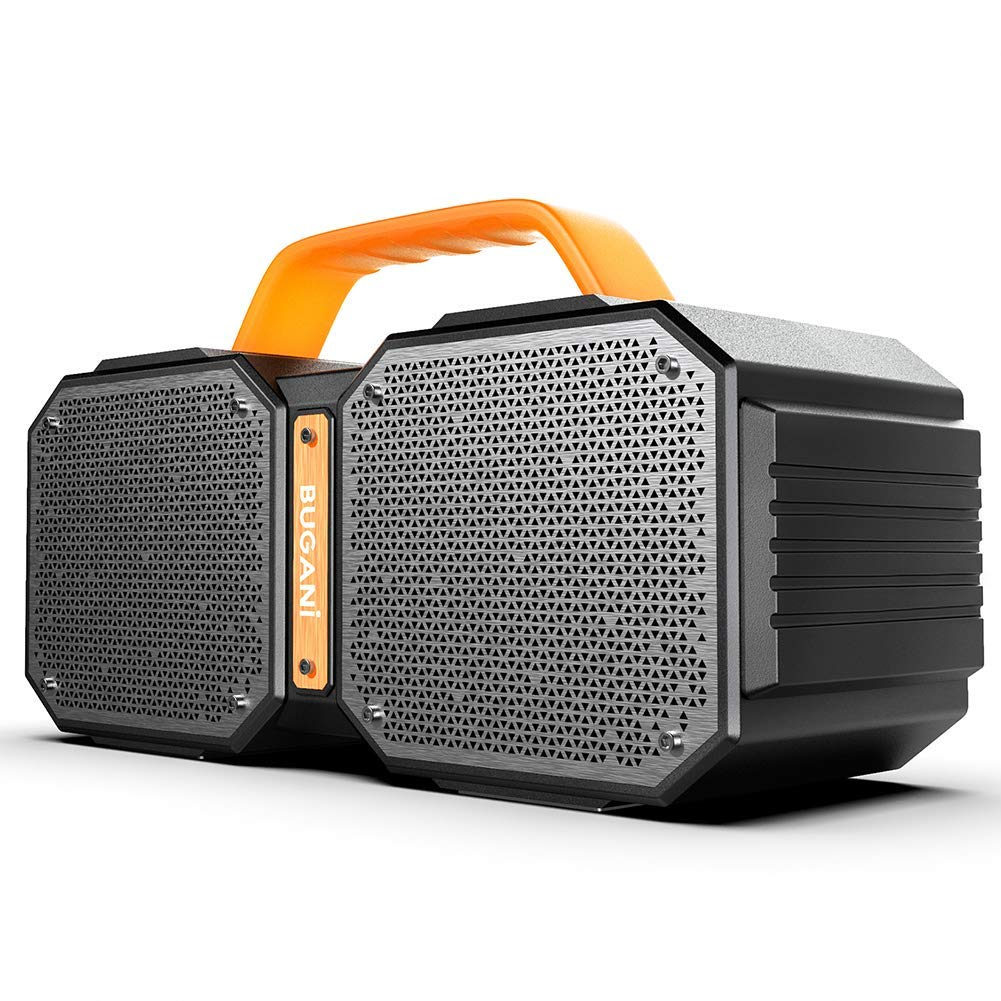 Bluetooth Speakers, Portable Bluetooth Speakers 5.0, 40W Super Power, Rich Woofer, Stereo Loud. Play for up to 40 Hours. Suitable for Family Gatherings and Outdoor Travel. (Black)