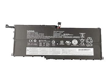 Lenovo Batería Original ThinkPad X1 Carbon (20FC/20FB), X1 ...
