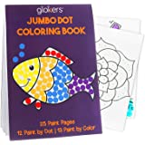glokers Jumbo Dot Coloring Book for Kids | Creative Interactive Activity Books for Toddlers | 25