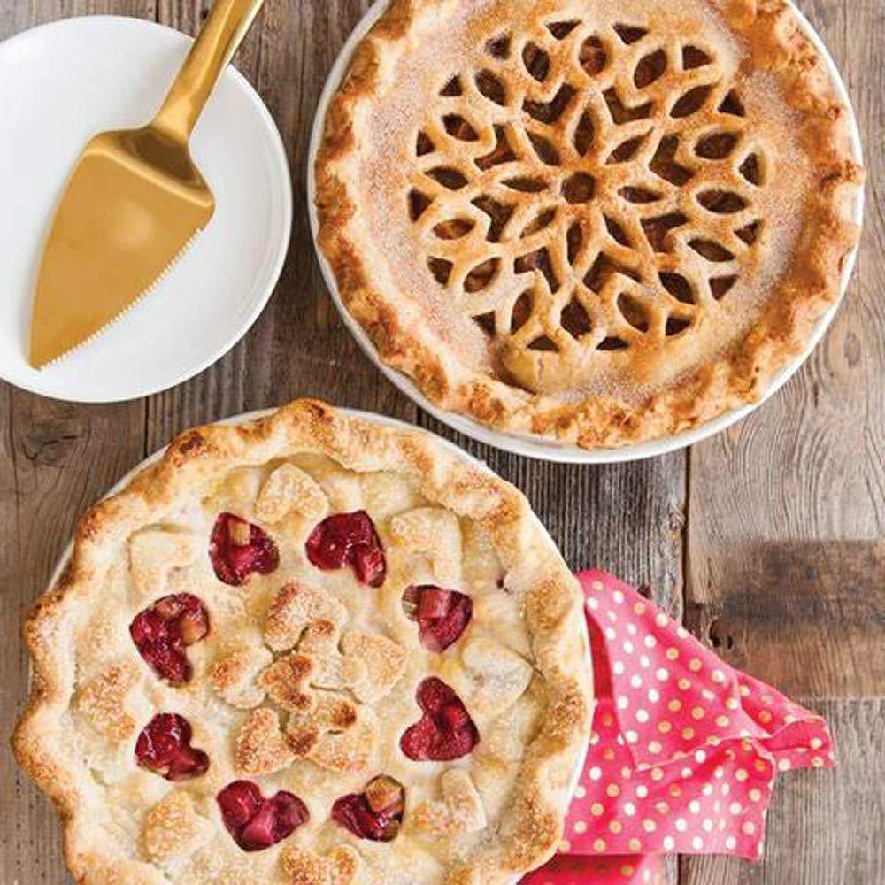 Coupe Nouilles Pizza Cookie Stamps pour Cuisine LUBITY D/écoupe-p/âte Roulette /à P/âtisserie Gaufreur pour Fondant Plastique D/écoration de Pizza Coupe de Roue,d/écoratrice et sertisseuse /à p/âtisserie A