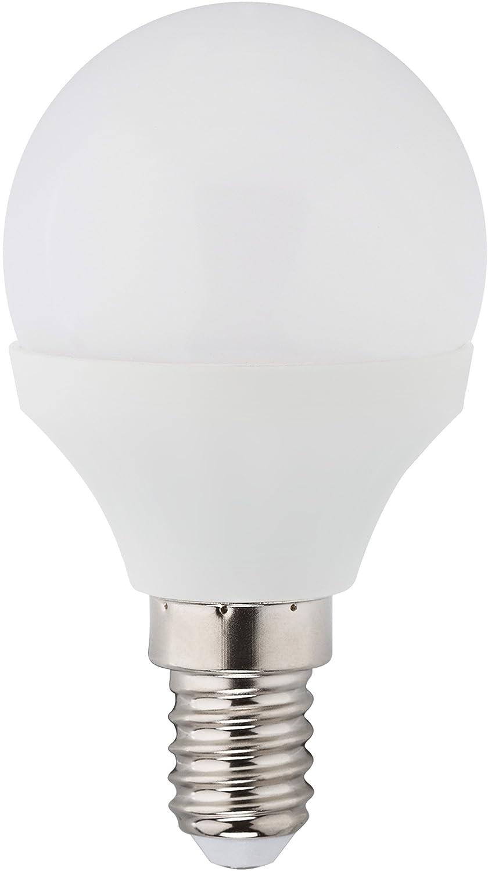 Müller Licht LED Leuchtmittel Tropfen 3W = 25W E27 matt Kugel P45 warmweiß 2700K