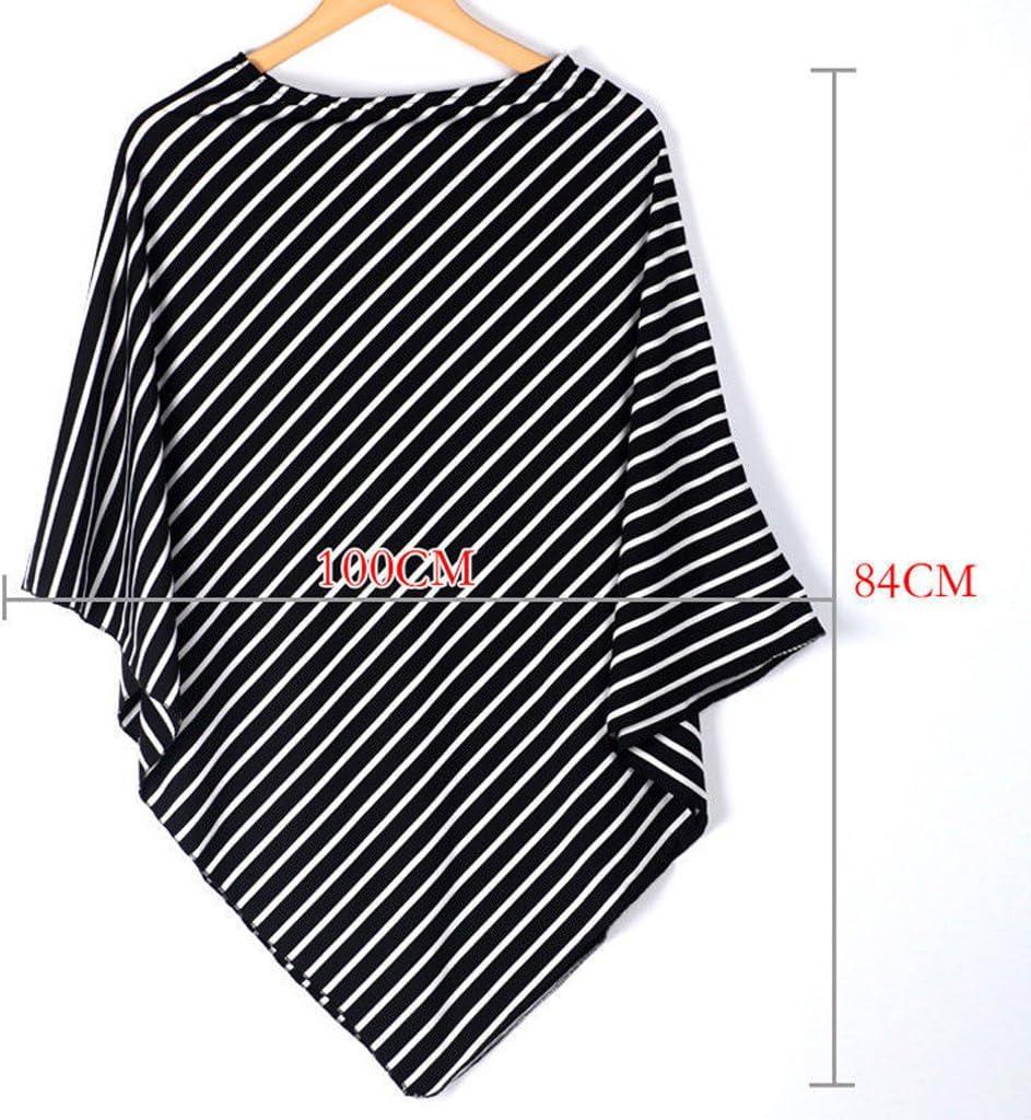S-TROUBLE Stillen Cover Schal Baby Car Seat Canopy Diagonal Stripe Schal