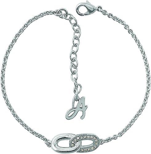 Adore by Swarovski : Bracelet Femme en Acier Rhodié symbole infini ...