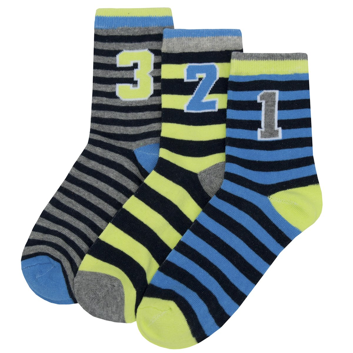Zest Boys Cotton Rich Socks