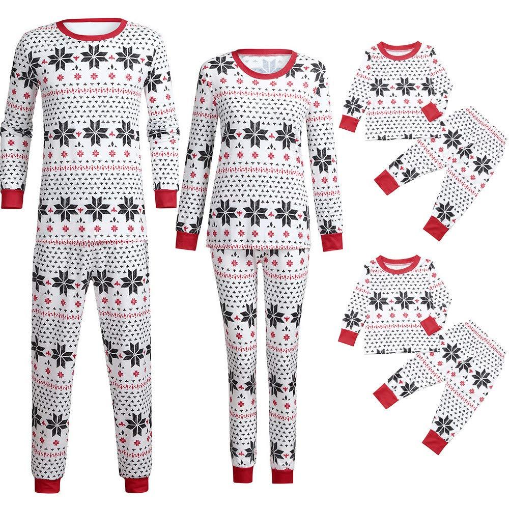 Family Matching Pajamas Pajama Set for Women Family Matching Swimwear,Family Christmas Pajamas Set Family Matching Pjs for Christmas Pajama Pants Men❤Red Kids❤❤3-4 Years