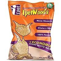 Granulado Higiênico de Madeira IPET Wood'S para Gatos 2kg IPET para Gatos