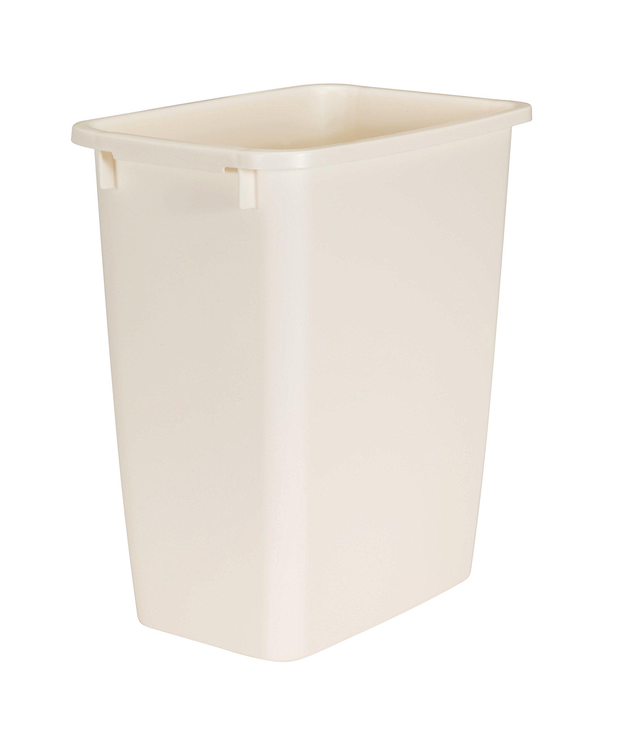 Rubbermaid Wastebasket, Bisque, 21-quart (FG280500BISQU) by Rubbermaid